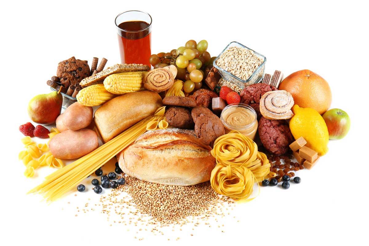 Sacharidy v potravinách